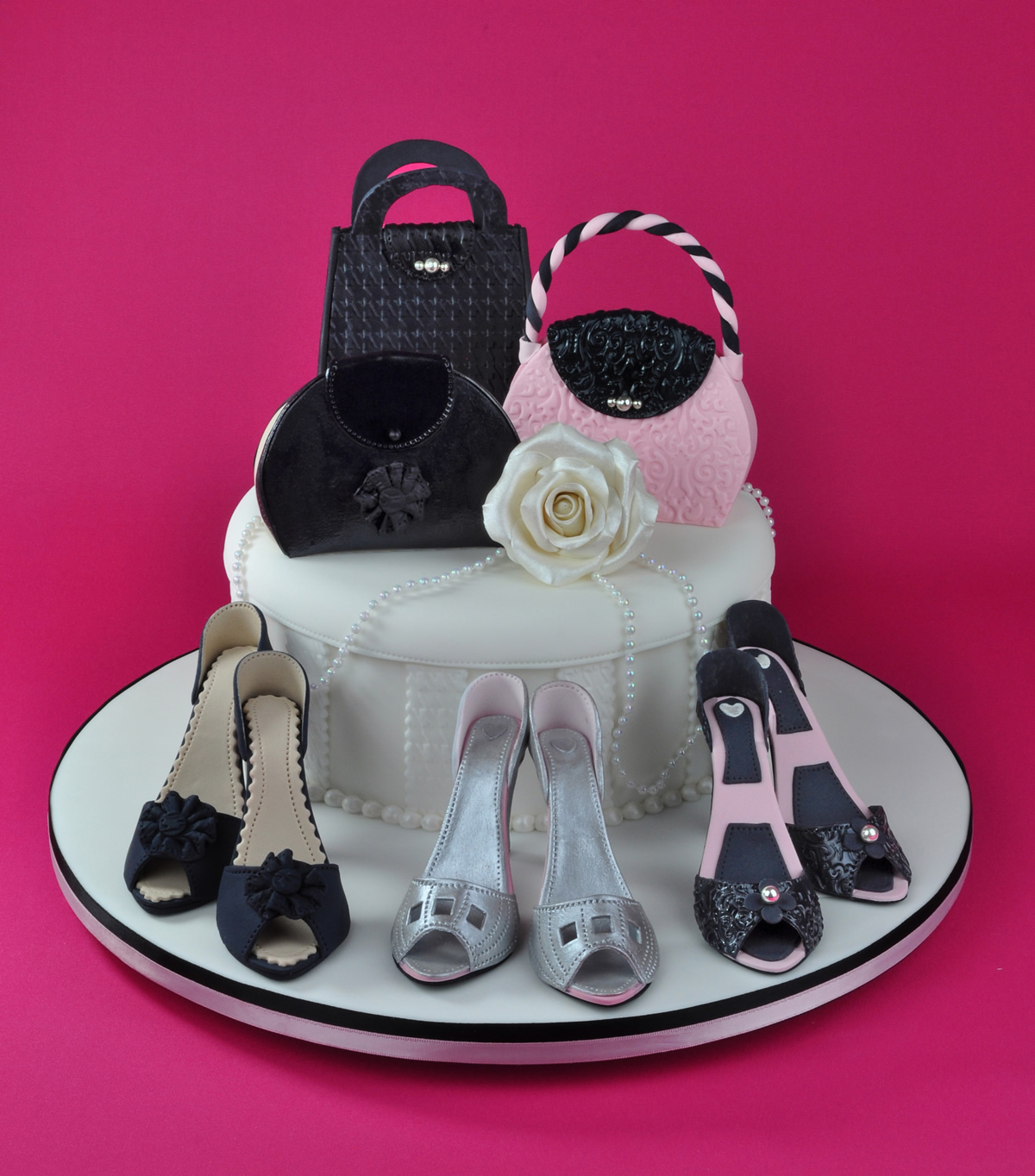 Shoes And Bags Bright Pink Sugar Artistry