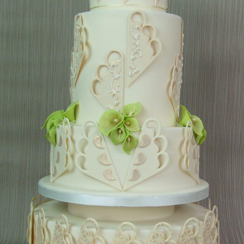Art Deco Fan Cake Stencils Uk